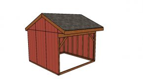 12×12 Field Shed Plans