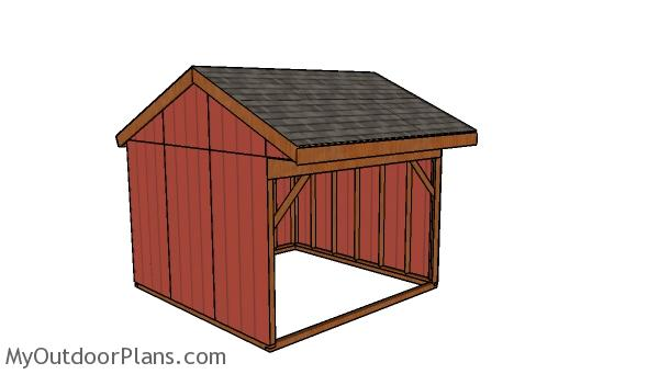 12x12 Field Shed Plans