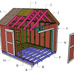 10×12 Gable Shed Roof Plans