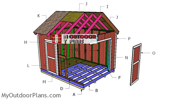 Building-a-10x12-gable-shed