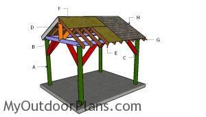 Building a 10x12 pavilion