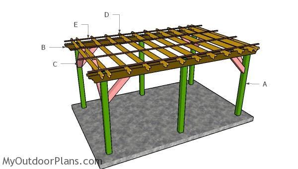 Building a 10x16 pergola