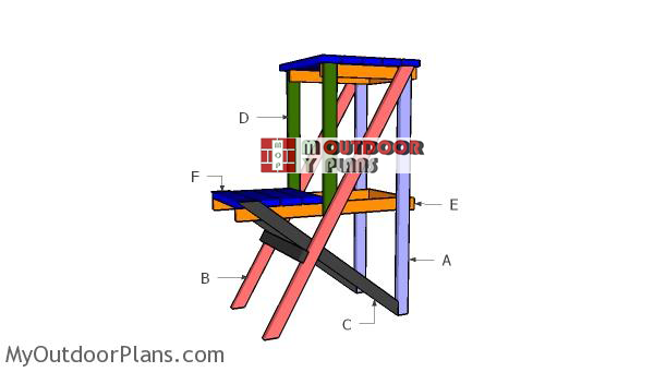 Building-a-2-tier-plant-stand