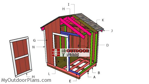 Building-a-8x6-gable-shed