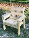 DIY Simple 2×4 Chair