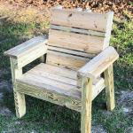 DIY Simple 2×4 Chair