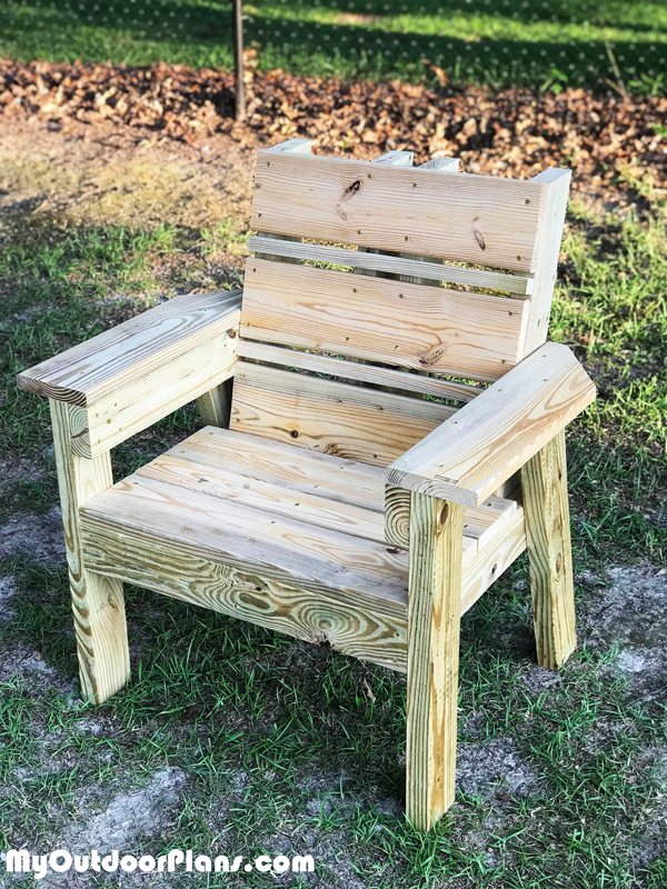DIY Simple 2x4 Chair
