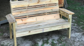 DIY Simple 2×4 Bench