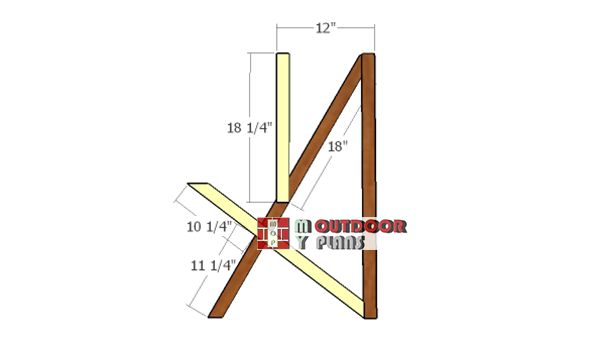 Fitting-the-vertical-supports