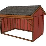 10×16 Field Shed Plans