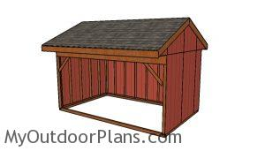 10x16 Field Shed Plans