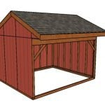 12×14 Field Shed Plans