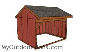 12x14 Field Shed Plans