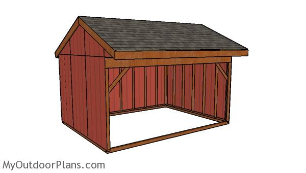 12x16 Field Shed Plans
