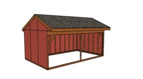 12×20 Field Shed Plans