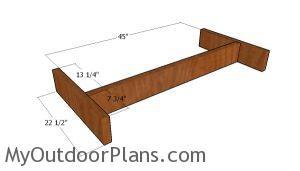 Bench frame