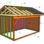10×16 Field Shed Roof Plans