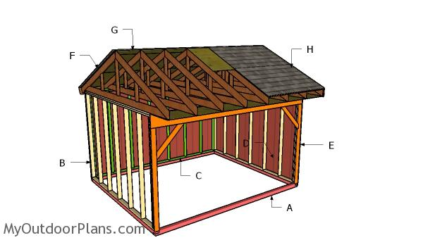 Building a 12x14 field shed