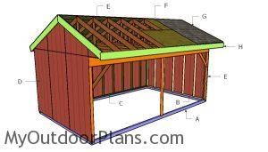 Building a 12x20 field shed