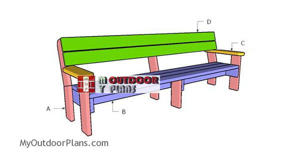 Building-a-8-ft-outdoor-bench