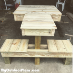 DIY Double Shooting Bench