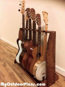 DIY-Multi-guitar-rack