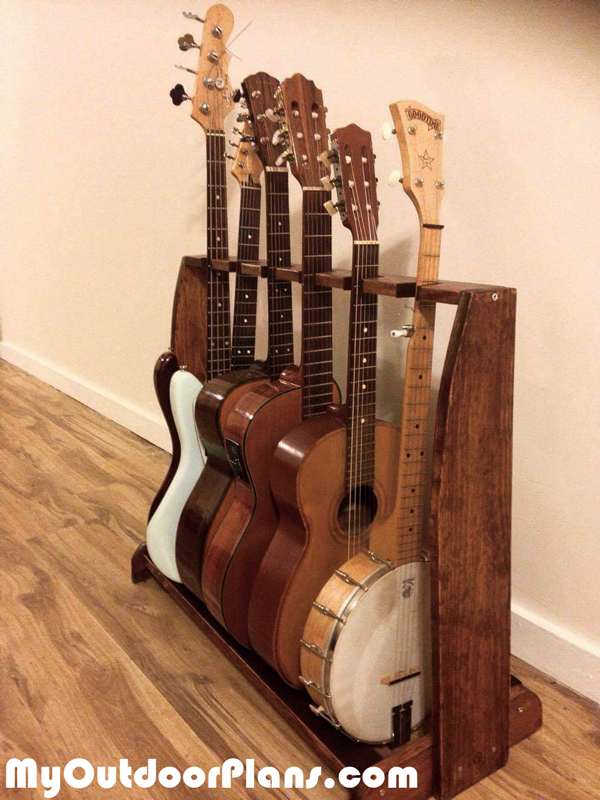 DIY-Multi-guitar-rack
