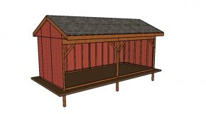10×24 Field Shed Plans