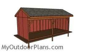 10x24 Field Shed Plans