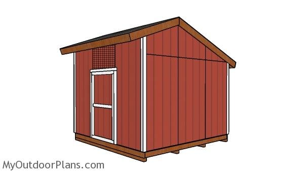 12x12 saltbox shed plans