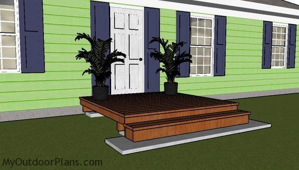 8x8 deck plans myoutdoorplans free woodworking plans
