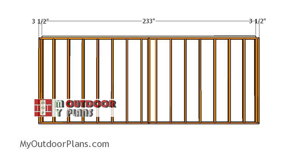 Assembling-the-back-wall-frame