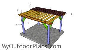 Building a 10x12 pergola