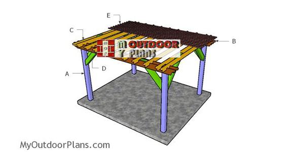 Building-a-10x12-pergola