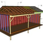 10×24 Field Shed Roof Plans