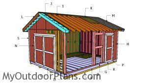 Building a 14x18 shed