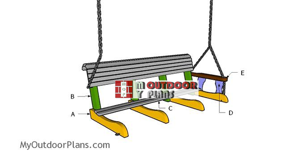Building-a-5-ft-porch-swing