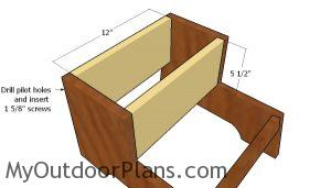 Building the storage box
