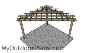 Corner Pergola Plans