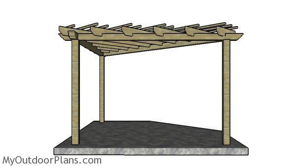 Corner Pergola Plans Myoutdoorplans Free Woodworking