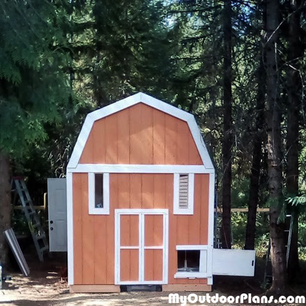 DIY 8x12 Chicken Coop