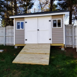 DIY 8×12 Gable Shed