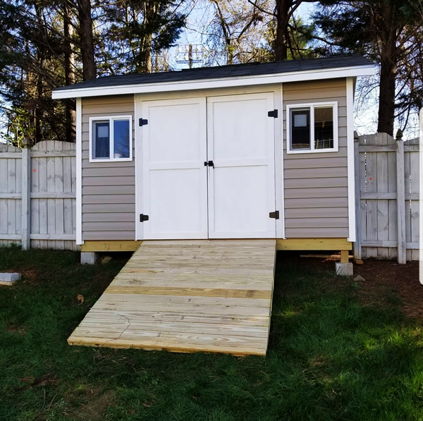 DIY 8x12 Gable Shed