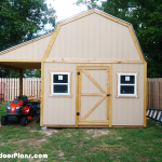 DIY Barn Shed with Porch