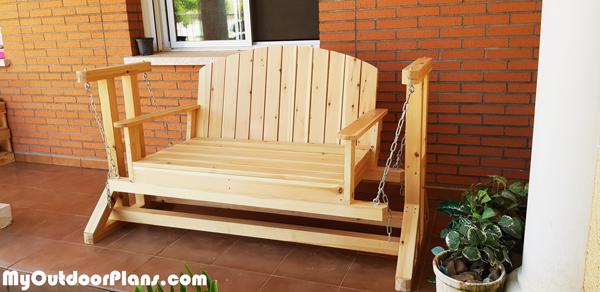 DIY-Glider-Bench
