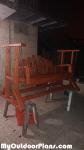 DIY Wooden Glider Swing Bench