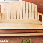 DIY Glider Swing Bench