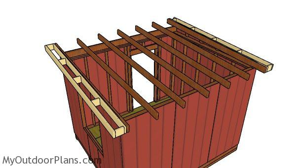 10x12 Flat Shed Roof Plans Myoutdoorplans Free Woodworking Plans And Projects Diy Shed Wooden Playhouse Pergola Bbq