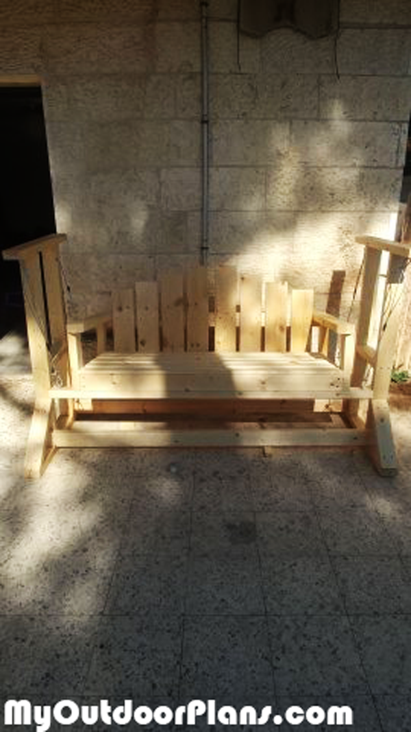 Diy Wooden Glider Swing Bench Myoutdoorplans Free Woodworking Plans And Projects Diy Shed