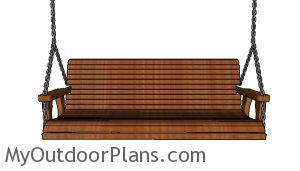Simple Porch swing Plans